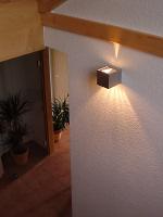 Wandlampe im Treppenhaus