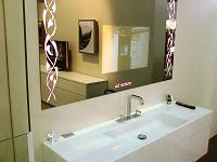 Badspiegel mit LCD