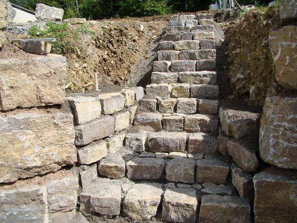 Fabelhaft Hausbau Erfahrungen » Treppe - Ein Fertighaus entsteht: Bauen #QM_09