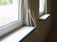 Fensterbänke für Heizungsunterbau