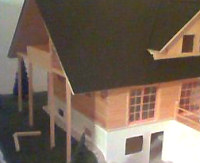 3D-Modell Hausbau