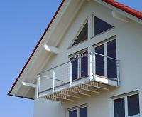 Der Balkon ist fertig