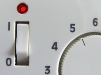 Temperaturregler der Fußbodenheizung