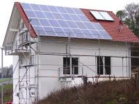 Die Photovoltaik ist in Betrieb