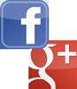 Folge uns auf Facebook und Google Plus