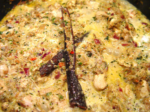 Kerala Chicken Curry Zubereitung