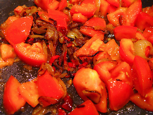 Zucchini-Bolognese Zubereitung