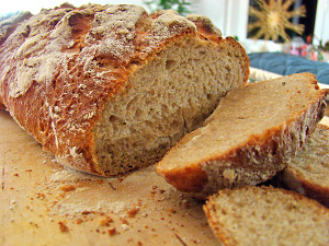 Lavendel-Honig-Brot