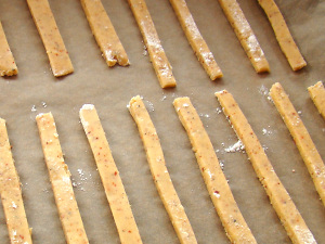 Käsestangen (pikant) ohne Blätterteig Zubereitung